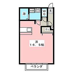 シティパルスギモトV[1階]の間取り