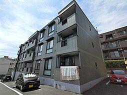 千葉県富里市日吉台1丁目の賃貸マンションの外観