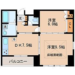 HF仙台レジデンスEAST[11階]の間取り
