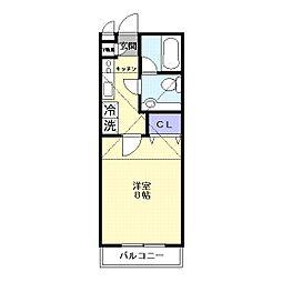 メゾン・パルフェ[2階]の間取り