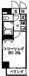 アピス渋谷神南[604号室]の間取り