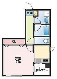 YS Villa[2階]の間取り
