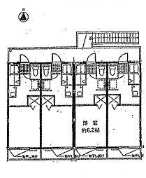 ミュータスK&S1[205号室号室]の間取り