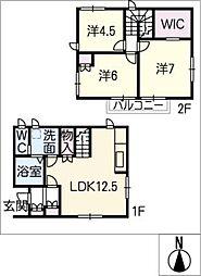 [一戸建] 愛知県名古屋市天白区元八事4丁目 の賃貸【/】の間取り