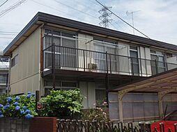 東京都練馬区西大泉5の賃貸アパートの外観