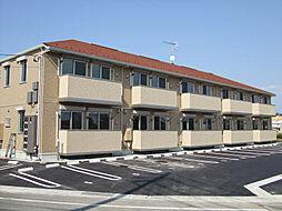 山口県宇部市大字東岐波の賃貸アパートの外観