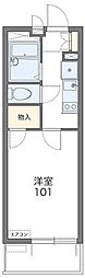 東京都国立市富士見台1丁目の賃貸マンションの間取り
