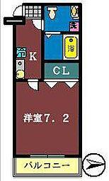 ルミエール幕張1[103号室]の間取り