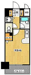 フレックス21博多II[10階]の間取り