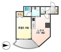プロシード金山II[8階]の間取り