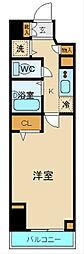 プロシード新横浜[8階]の間取り