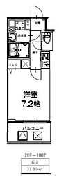S-RESIDENCE新大阪Ridente[609号室号室]の間取り