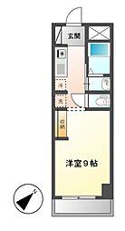 シフォン日和[3階]の間取り