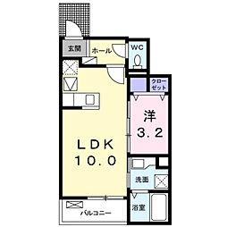 深野3丁目アパート2[0102号室]の間取り