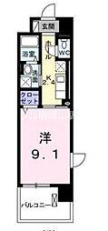 天瀬ハイマート[3階]の間取り