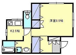 [一戸建] 神奈川県鎌倉市関谷 の賃貸【/】の間取り
