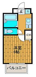 ブリティッシュコート[2階]の間取り