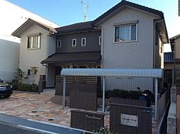 兵庫県尼崎市南武庫之荘3丁目の賃貸アパートの外観