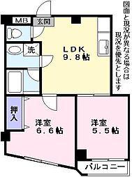 Nasu21[4階]の間取り