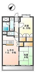 グレイス21[3階]の間取り