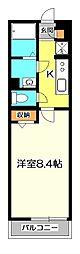 リブリ・武蔵野[2階]の間取り