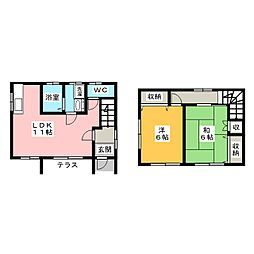 [一戸建] 静岡県浜松市西区篠原町 の賃貸【/】の間取り