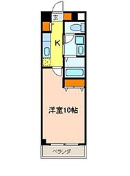 サングリーン新宿[505号室]の間取り