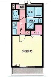 プランドール新横浜[308号室号室]の間取り