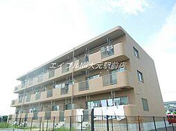 岡山県岡山市南区米倉の賃貸マンションの外観