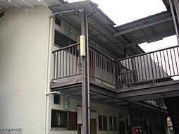 京都府京都市中京区西ノ京月輪町の賃貸アパートの外観