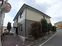 兵庫県川西市南花屋敷1丁目の賃貸アパートの外観