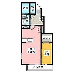 エテルノ カーサ[2階]の間取り