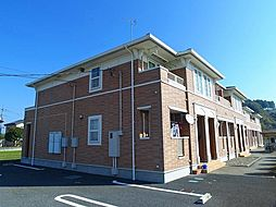 栃木県芳賀郡益子町大字益子の賃貸アパートの外観