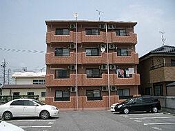 愛知県岡崎市昭和町字高畑の賃貸マンションの外観