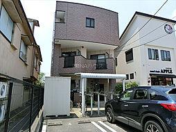 埼玉県上尾市愛宕の賃貸マンションの外観