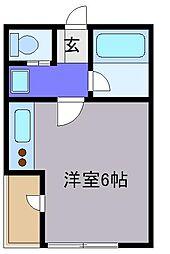 埼玉県さいたま市中央区大戸4の賃貸マンションの間取り