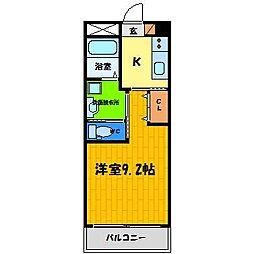 Fairy壱番館[2階]の間取り