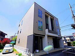 埼玉県所沢市大字本郷の賃貸アパートの外観
