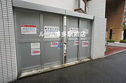 パークアクシス博多美野島のゴミ置き場(^^