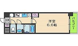 プレサンス梅田北オール[3階]の間取り