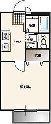 ピア[1階]の間取り