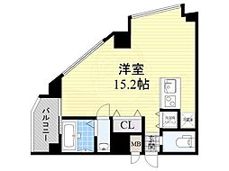 匠空TOYONAKA 5階ワンルームの間取り