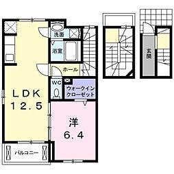 コンフォート幡生[305号室]の間取り