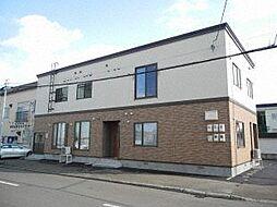 北海道札幌市豊平区豊平三条13丁目の賃貸アパートの外観
