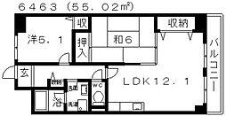 ステラルーチェ[409号室号室]の間取り