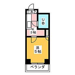 ロマーヌ仙台桜ヶ丘第一[2階]の間取り