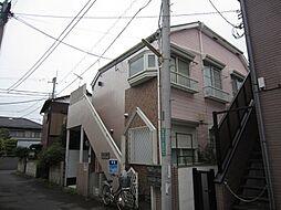 東京都国分寺市富士本1丁目の賃貸アパートの外観
