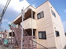 兵庫県明石市中朝霧丘の賃貸アパートの外観