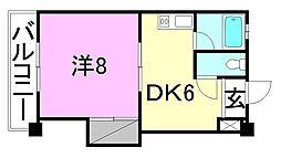 高須賀ハイツ[202 号室号室]の間取り