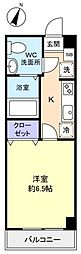 アリビオ八千代台西[4階]の間取り